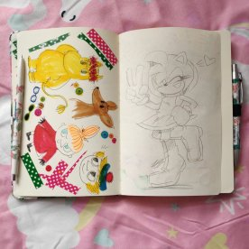 2019 sketchbook 2