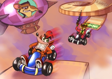 Crash Team Racing (2016)