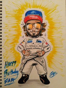 Happy Birthday Alonso (2018)