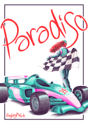 Paradiso [webcomic cover] (2017)