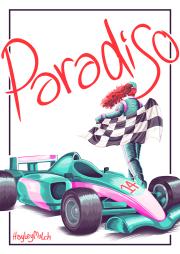 Paradiso [webcomic cover] (2017)